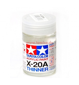 TAMIYA X20A Diluant Pot De...