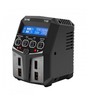 SKYRC Chargeur double T100...