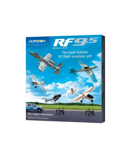 HORIZON HOBBY Simulateur Realflight 9.5 RFL1201