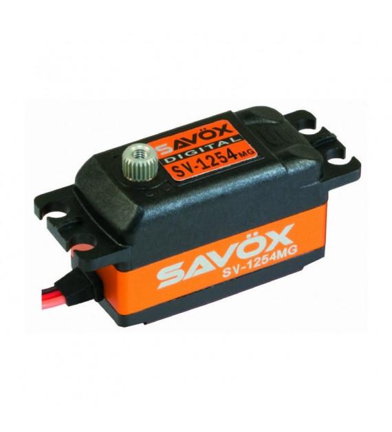 SAVOX servo (7.4v-15kg-0.085s) SV-1254MG