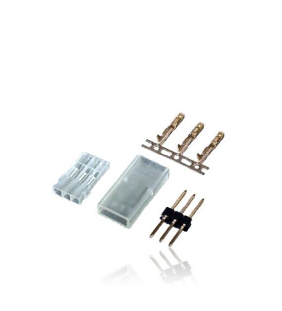 POWERBOX Connecteurs JR Mâle à sertir (50pcs) 1050/50