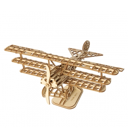 ROBOTIME Bi-Plane en bois...