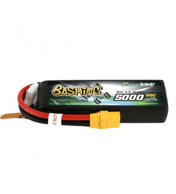 GENS ACE Batterie Lipo 3S 5000mAh 60C Bashing GEA50003S60X9
